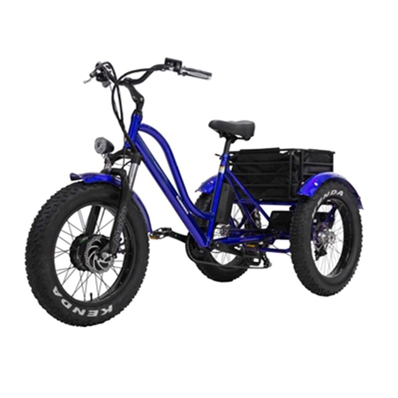 Vélo trois roues fatbike électrique Florence
