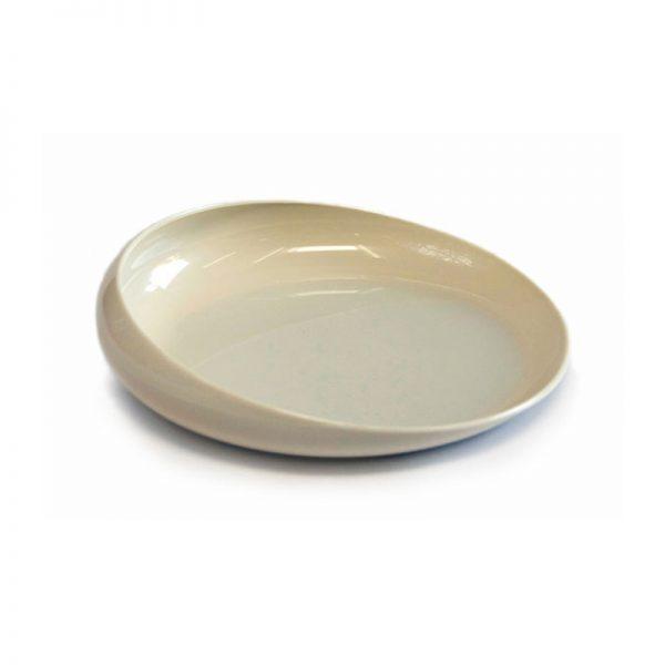 Assiette plastique ronde Scoop 20 cm