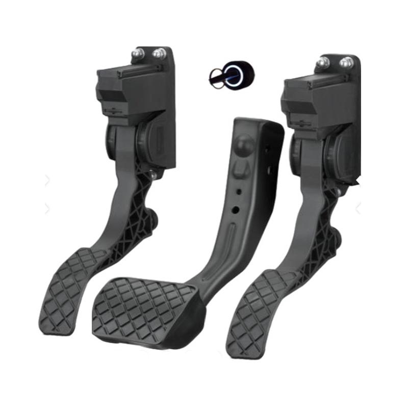 Belika Commande de Vitesse dacc/él/érateur-Main Gauche//Droite Durable et Facile /à connecter acc/él/érateur Pouce Doigt d/éclencheur acc/él/érateur pour v/élo /électrique Scooter e-Bike Main Gauc