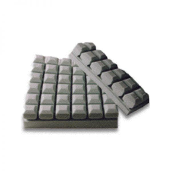 Coussin de fauteuil cubes 18x16x3'' housse imperméable