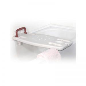 Planche de bain standard a/poignée/porte-savon (e)
