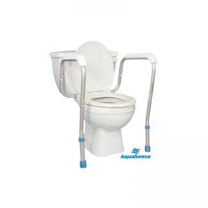 Rails de sécurité de toilette ajustables AquaSense
