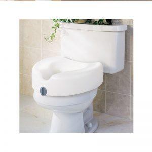 Siège surélevé de toilette 4.5 pces