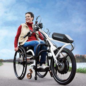 Vélo à mains avec assistance Quickie Attitude hybride